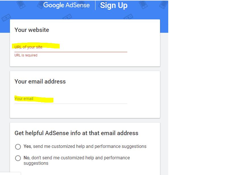 Google Adsense Signup - Google adsense se paise kaise kamaye