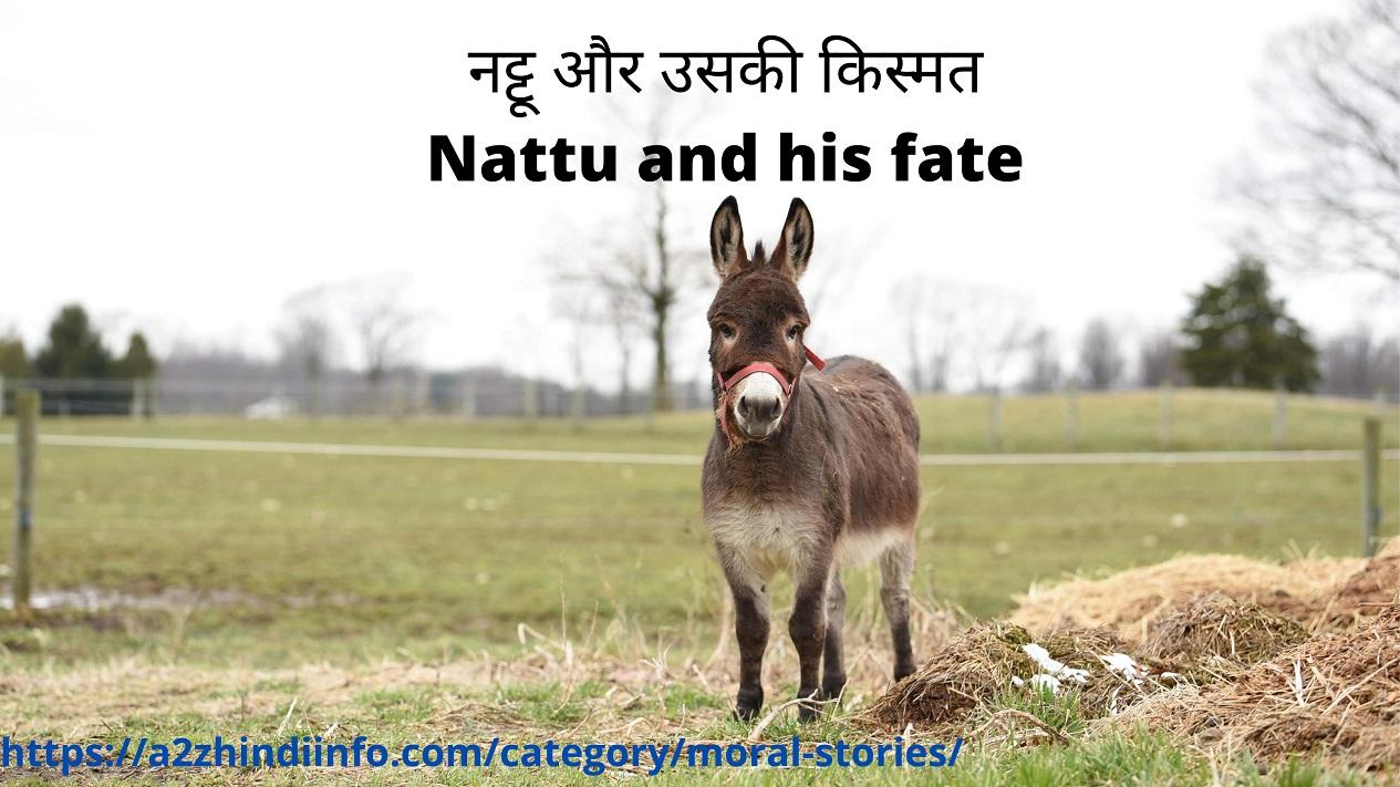 नट्टू और उसकी किस्मत Nattu and his fate