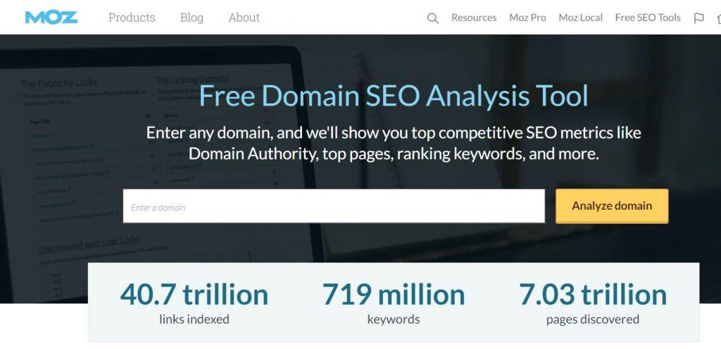 Free Domain SEO Analysis Tool