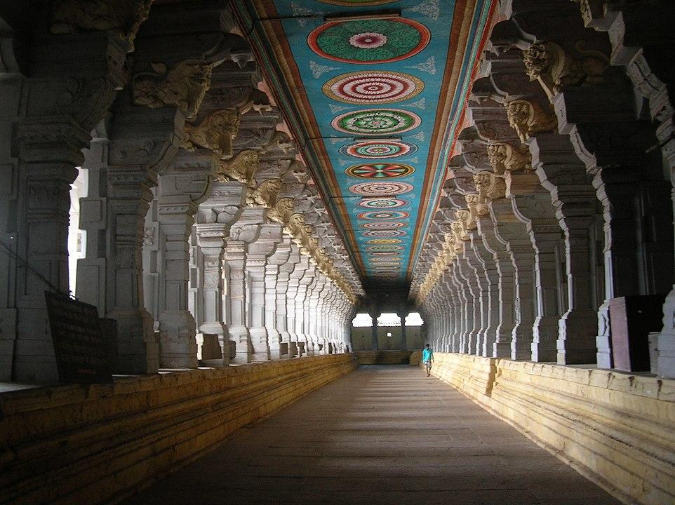 Rameshwaram temple ( रामेशवरम मंदिर ) की वास्तुकला